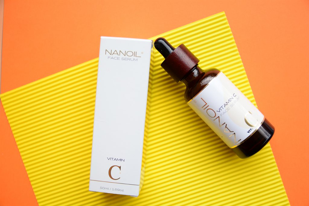 recommended face serum with vitamin c Nanoil