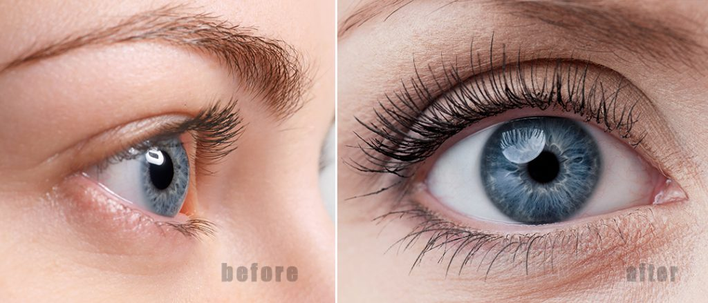 2b1948856ff Nanolash - the best eyelash conditioner before and after