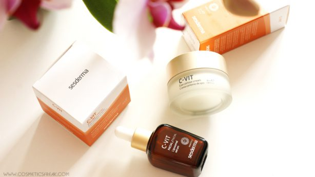 How to give your face a radiant look? Use C-VIT cosmetics from Sesderma!