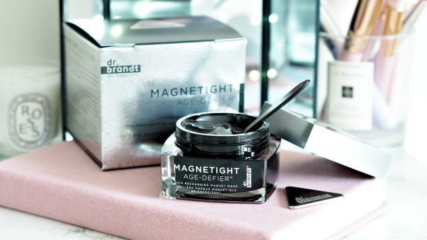 Magneto is embarrassed. Magnetic face mask by Dr. Brandt, Magnetight Age-Defier