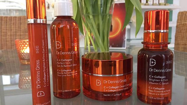 Cosmetic collection by Dr Dennis Gross: C + Collagen for discolorations and wrinkles