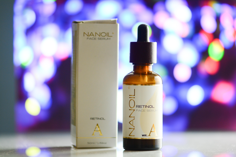 Nanoil recommended retinol face serum